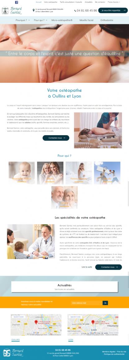 Osthéopathe SAINLEZ
