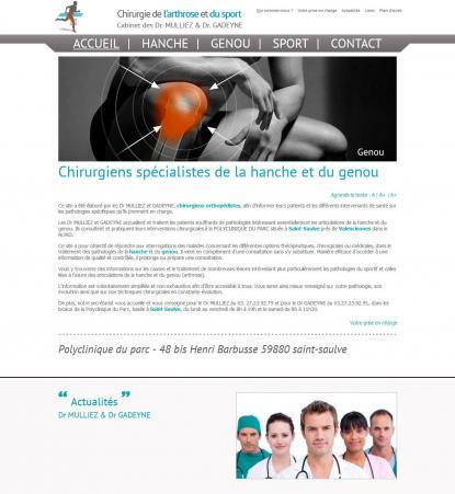 Chirurgie de l'arthrose et du sport