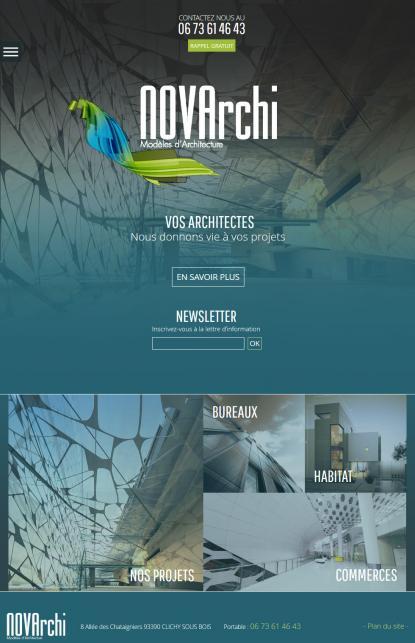 Nova Archi - Modèle d'Architecture
