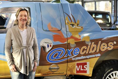 Axecibles sponsor officiel de Carole Montillet