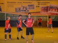 Foot en salle : sport et détente pour les collaborateurs d'Axecibles