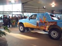 Carole Montillet présente son nouveau véhicule Axecibles