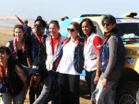 Axecibles au Rallye des Gazelles 2010