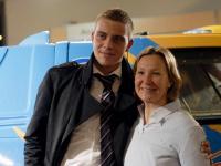 Remise des clés du 4X4 AXECIBLES à Carole Montillet pour le Rallye 2010