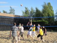 Premier tournoi de beach volley : Axecibles sort ses shorts !