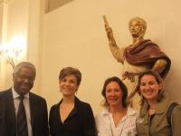 Axecibles vainqueur du  Rallye des gazelles 2012 reçu au Sénat !