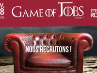 Axecibles participe au  salon Game of Jobs au Stab Vélodrome de Roubaix