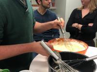 Fête de la chandeleur : Axecibles met la main à la pâte ... à crêpes !
