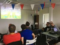 France VS Belgique : Axecibles soutient l'équipe de France à fond !