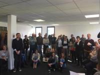 Axecibles reçoit les futurs animateurs de startup de territoire Lille.
